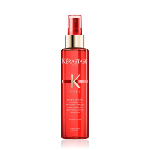 Kérastase Soleil – Huile Sirène is a Leave In Spray For Soft Beach Waves