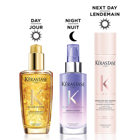 Kérastase Winter Recovery for Blondes – Repair Routine For Hair at Pomme Salon Canada