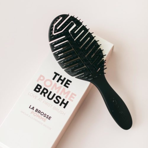The Pomme Brush Deep Charcoal
